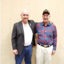 GySgt Bill Manbeck with Sgt Ivan P. Hammond