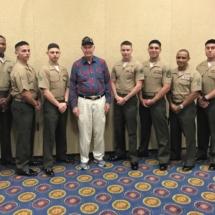 Sgt Ivan P. Hammond World War II Iwo Jima Veteran with the I&I Marines